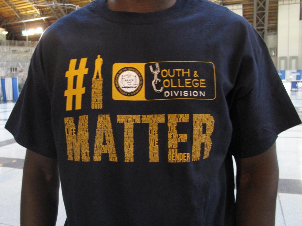 #IMatter is a campaign against gun violence that's part of the NAACP's youth and college division.