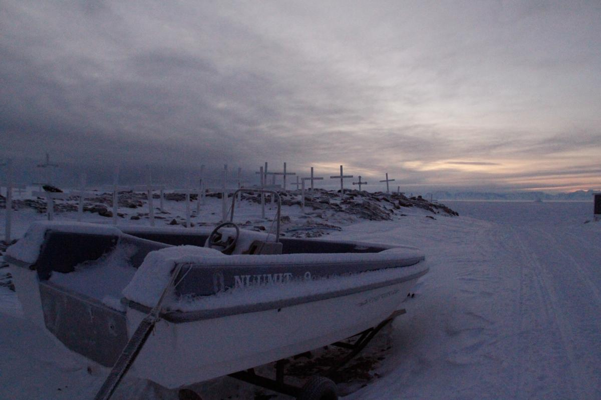 Ittoqqortoormiit is icebound most of the year. Even with receding sea ice, ships can visit only in the summer, when the town is resupplied with food and passing cruise ships bring tourists.