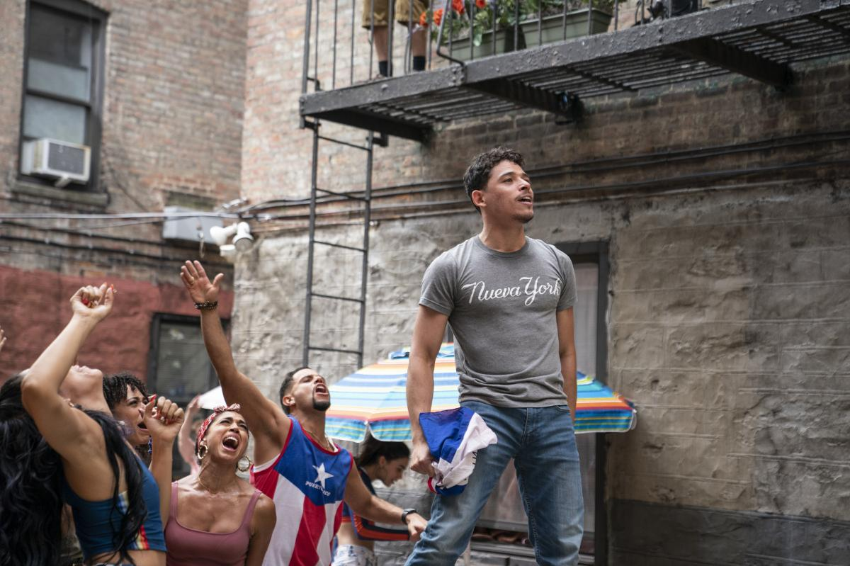 Lead In the Heights actor Anthony Ramos is from New York.