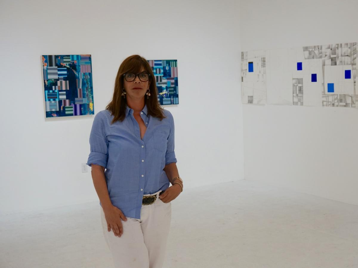 Eva Chimento says she was clueless about the neighborhood when she opened her gallery, Chimento Contemporary. Hers is one of about a dozen high-end galleries that have opened on Anderson Street in recent years.
