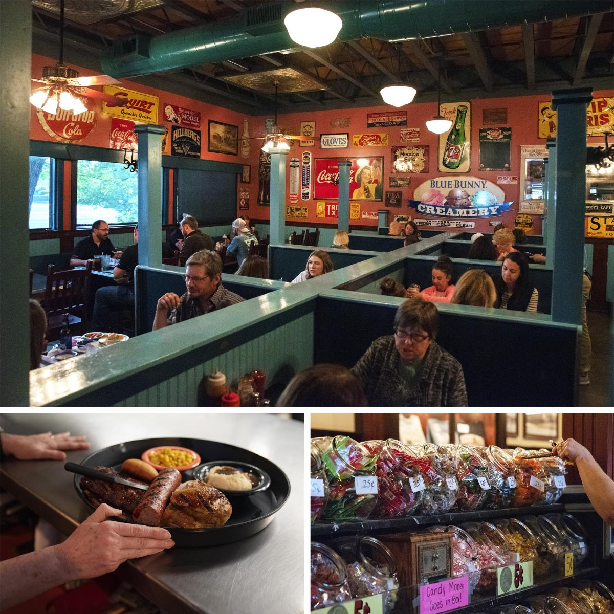About 16,000 guests are served at Hickory Park each week. At one time, all the restaurant had to do to fill positions was post a notice on the university job board and stacks of applications poured in, Kopecky says. These days, the restaurant hires just a