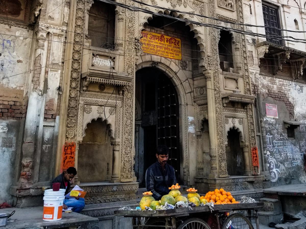 Mughal-influenced architecture is found throughout Prayagraj.