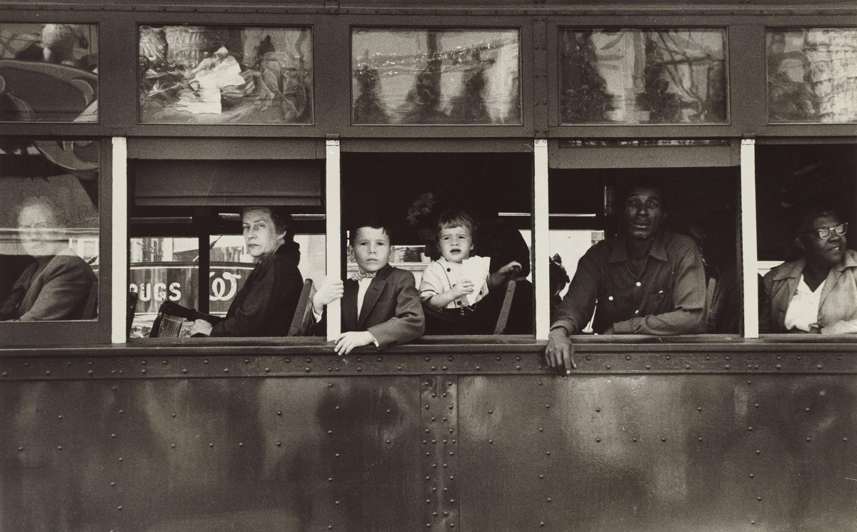 Trolley – New Orleans, 1955.