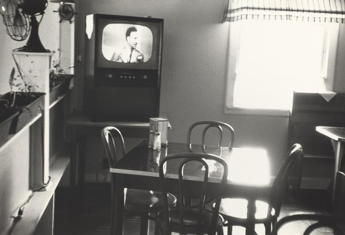Restaurant – U.S. 1 leaving Columbia, South Carolina, 1955.