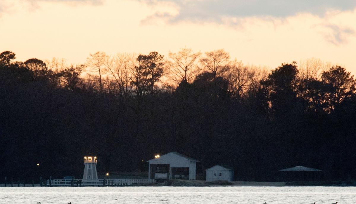 """A dock is seen at a recreational compound owned by the Russian government near Centreville, Maryland on Thursday. The U.S. government said the facility was used """"for intelligence-related purposes."""""""