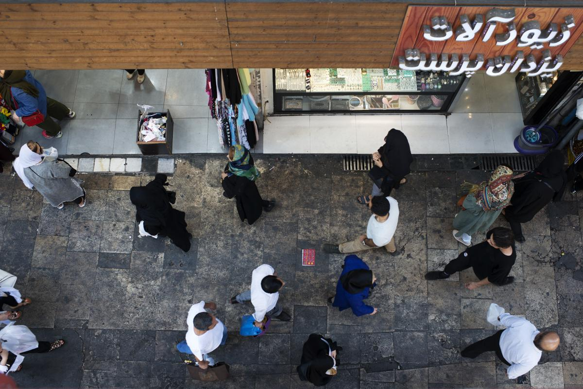 Residents of Tehran recently interviewed by NPR were willing to fault Iran's ruling establishment for the economic troubles, a departure from normal practice in the country.