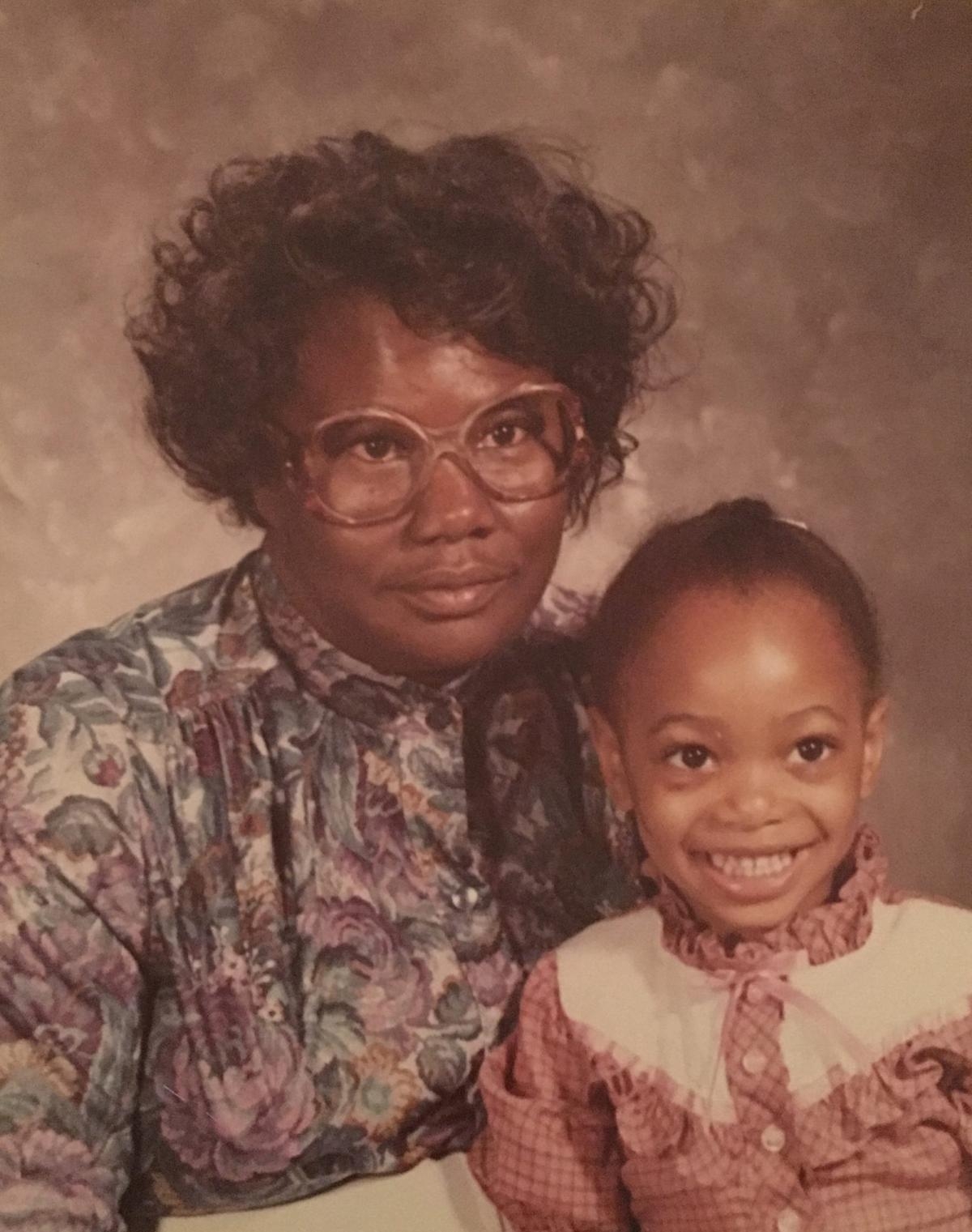 """Hadiyah-Nicole Green (right) with her """"Auntie"""" Ora Lee Smith. Green founded the Ora Lee Smith Cancer Research Foundation in honor of her late aunt."""