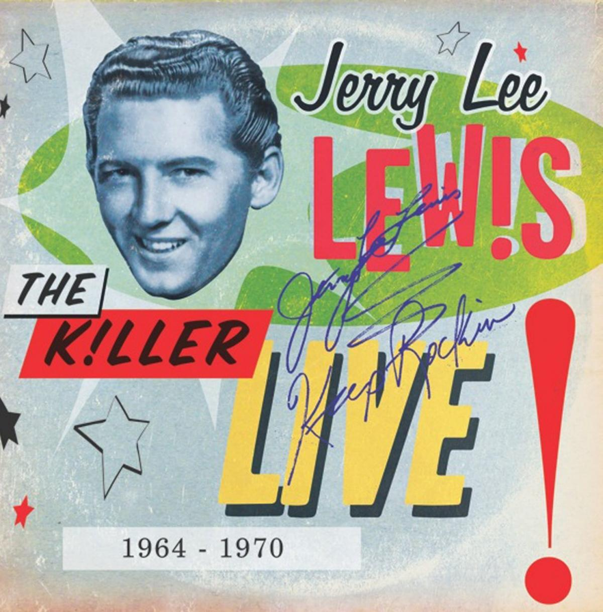 A new 3-CD box set of live performances by Jerry Lee Lewis combines four albums and includes 16 bonus tracks.