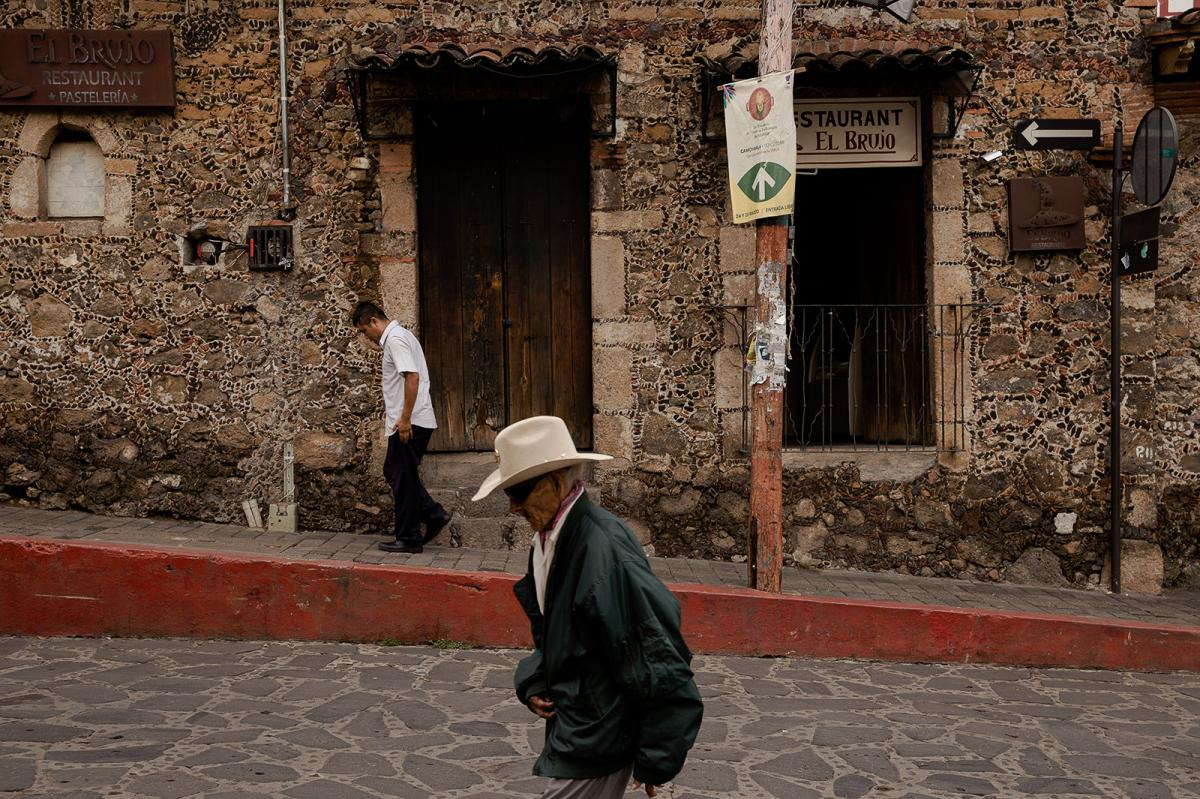 Quiroz's family scoured the streets of Tepoztlán, questioning neighbors and seeking witnesses in the 71-year-old's disappearance.