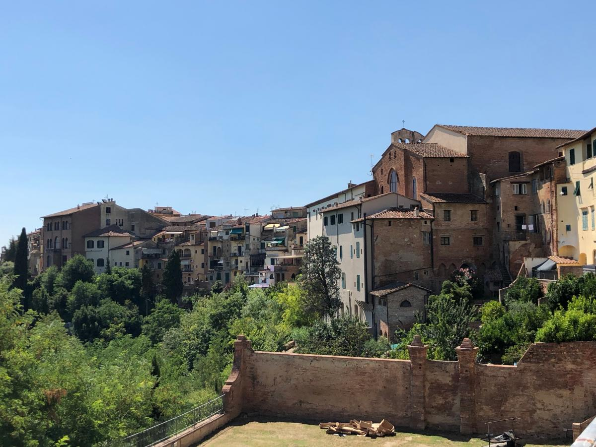 One place in Tuscany where migrants are still welcomed is San Miniato, a medieval town halfway between Pisa and Florence, perched on sloping hills dotted with olive groves.  Many migrants have found jobs in local tanneries that produce Tuscany's luxury le