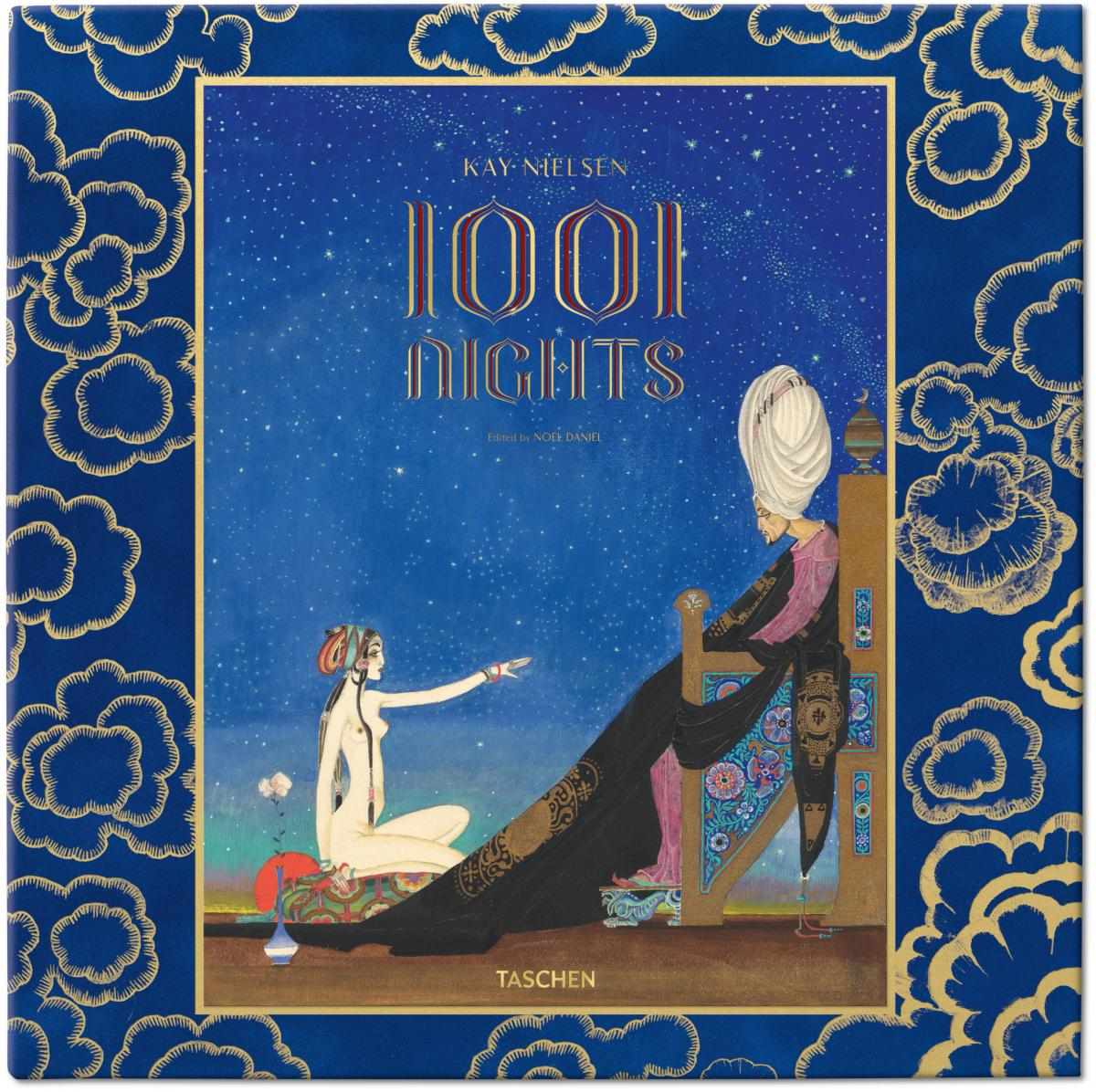 The cover of Kay Nielsen's A Thousand and One Nights.