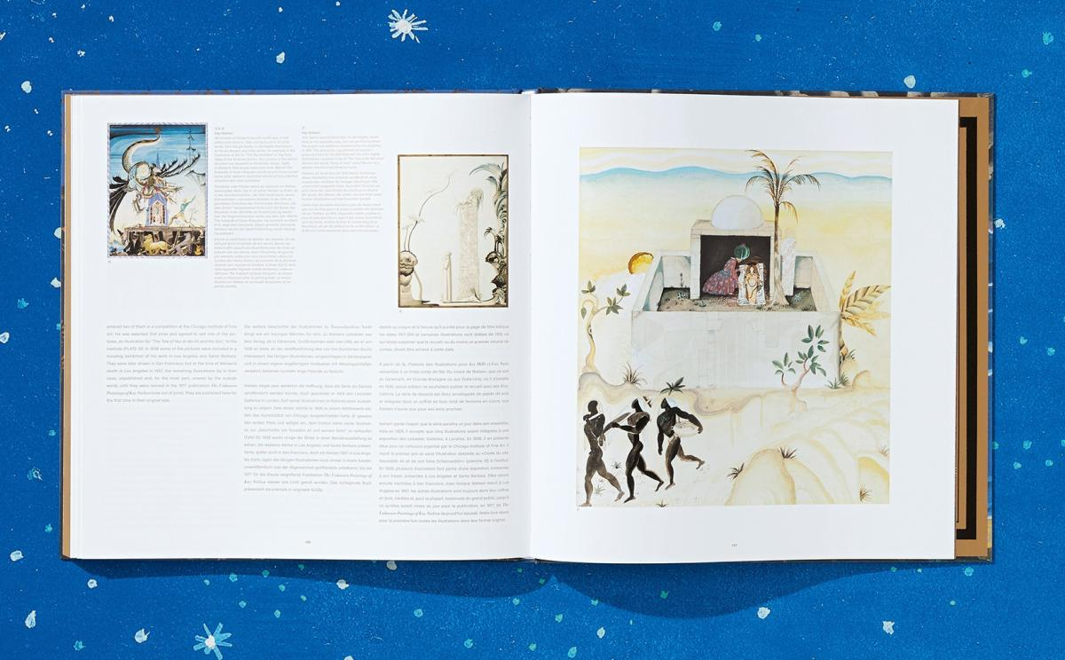 The collection includes a book of essays adding context to Nielsen's illustrations.