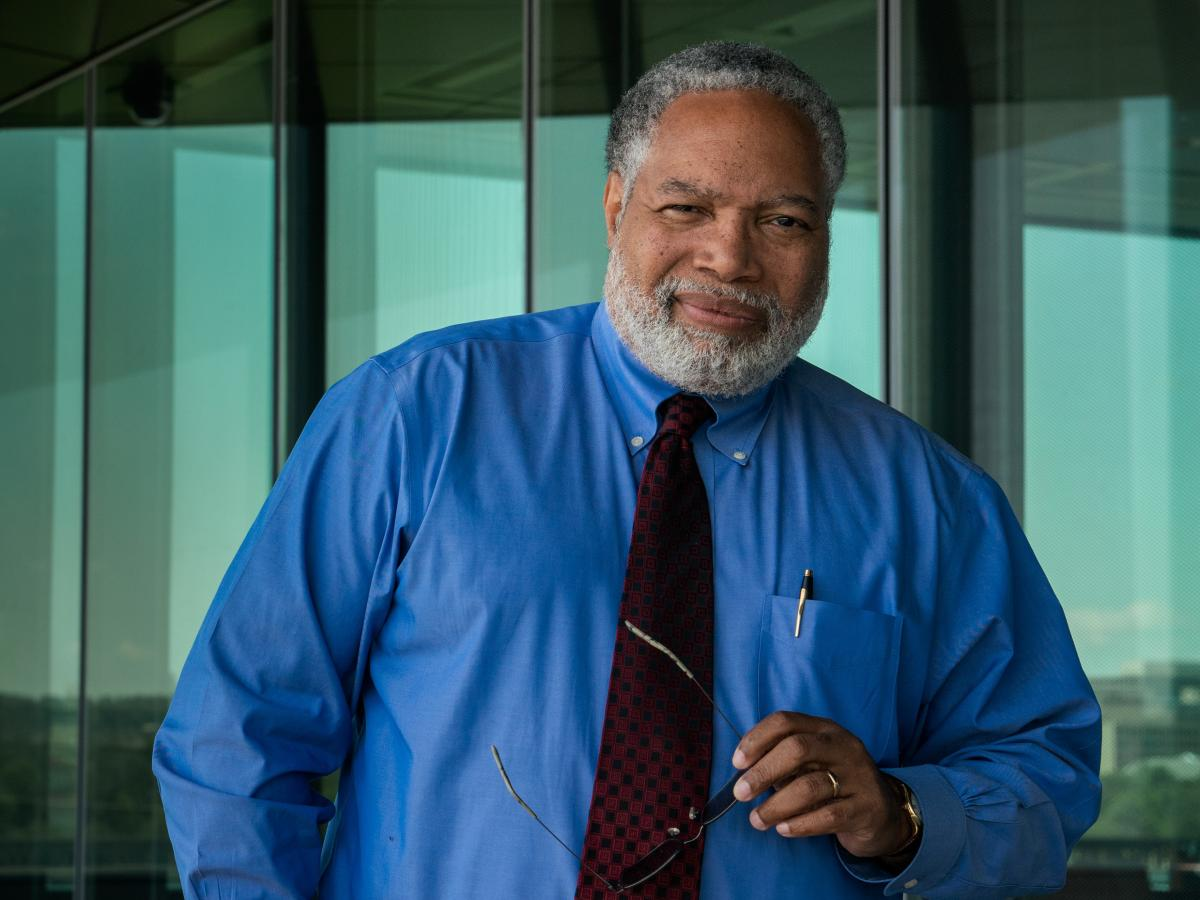 """Lonnie Bunch, the first historian to lead the Smithsonian, says he aims to engage the general public in """"wrestling with the shades of gray"""" and to """"embrace ambiguity."""""""
