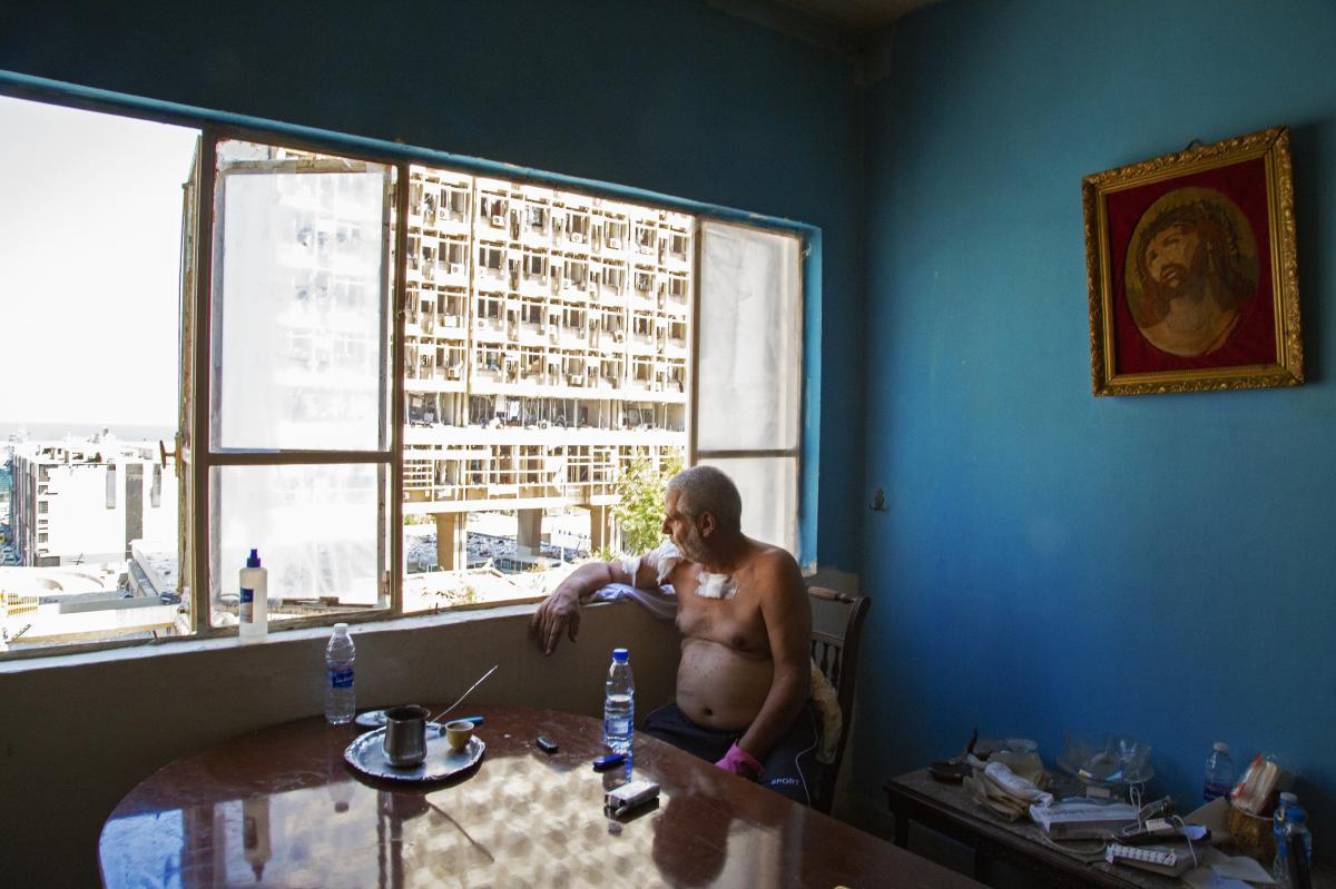 Jean Moukarzel lives in Beirut's neighborhood of Gemmayze.