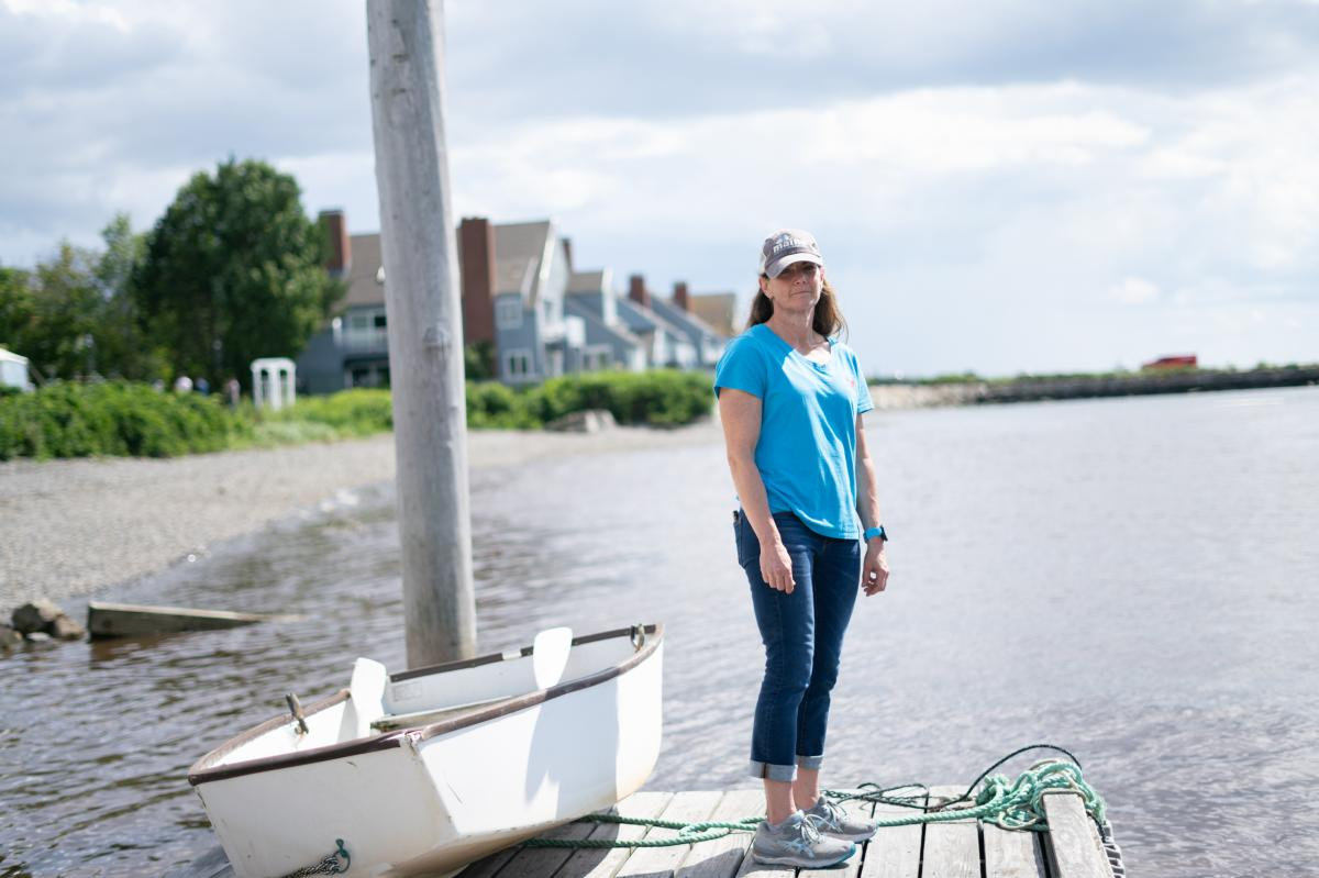 Patrice McCarron is the executive director of the Maine Lobstermen's Association. The group thinks the new regulations will impose a burden on the region's lobstermen.