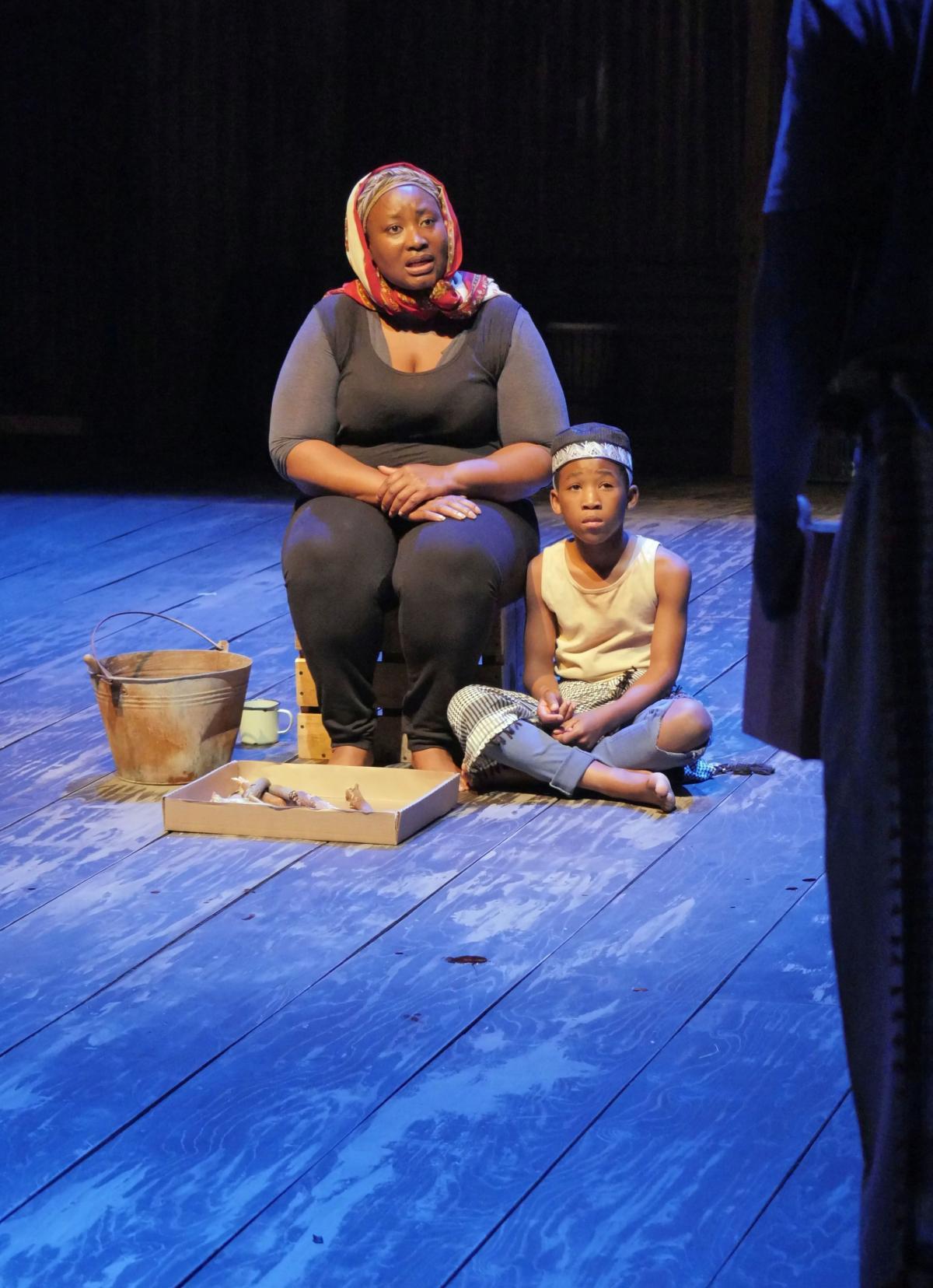 Pauline Malefane appears alongside Siphosethu Juta in A Man of Good Hope.
