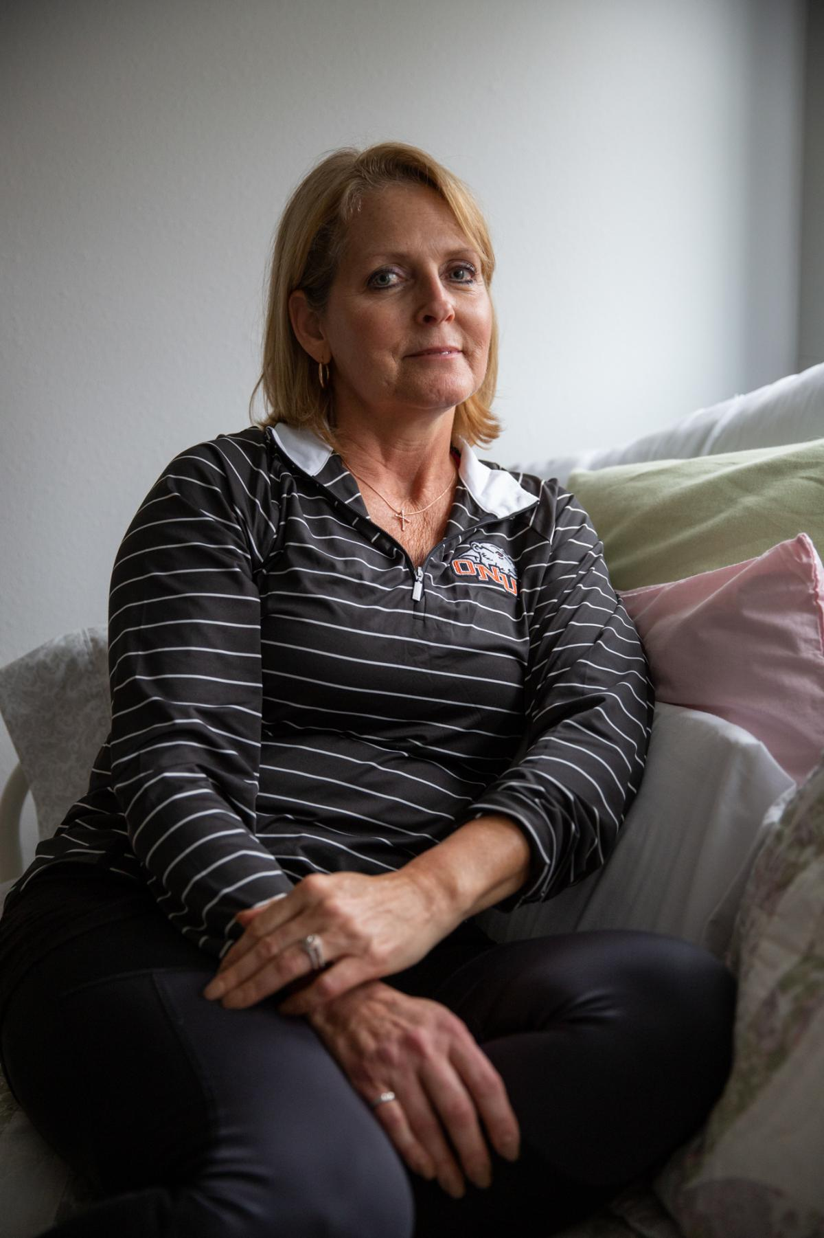 "Bobb was born with a malformation in her pelvis that led to pain. Over the span of two decades, she underwent more than a dozen major surgeries, yet none offered relief. ""When you get to that point, you can't see beyond the pain,"" Bobb says. ""You're just"
