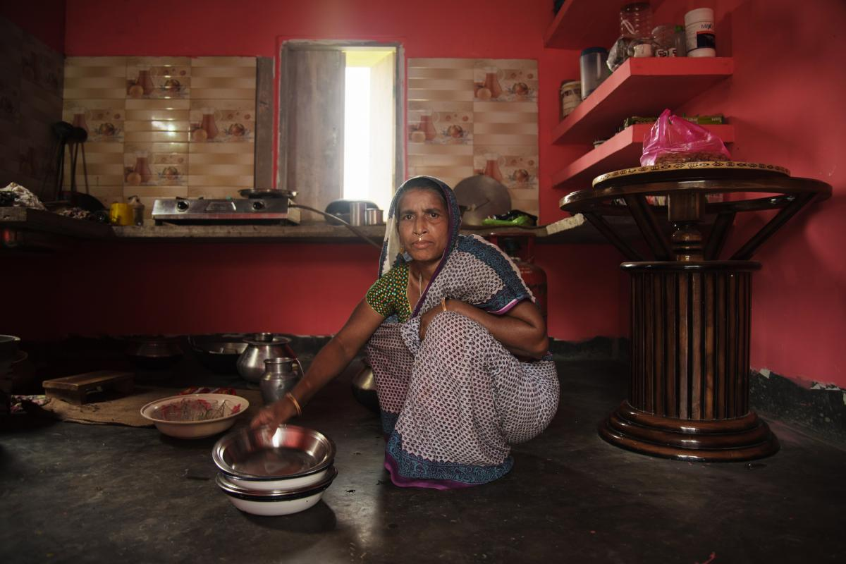 "Nessa has lived in the same impoverished village in northeast India all her life. Indian citizenship allows her family to qualify for food rations. ""We're poor, and we rely on government food rations — seven of them, one for each member of our family,"""