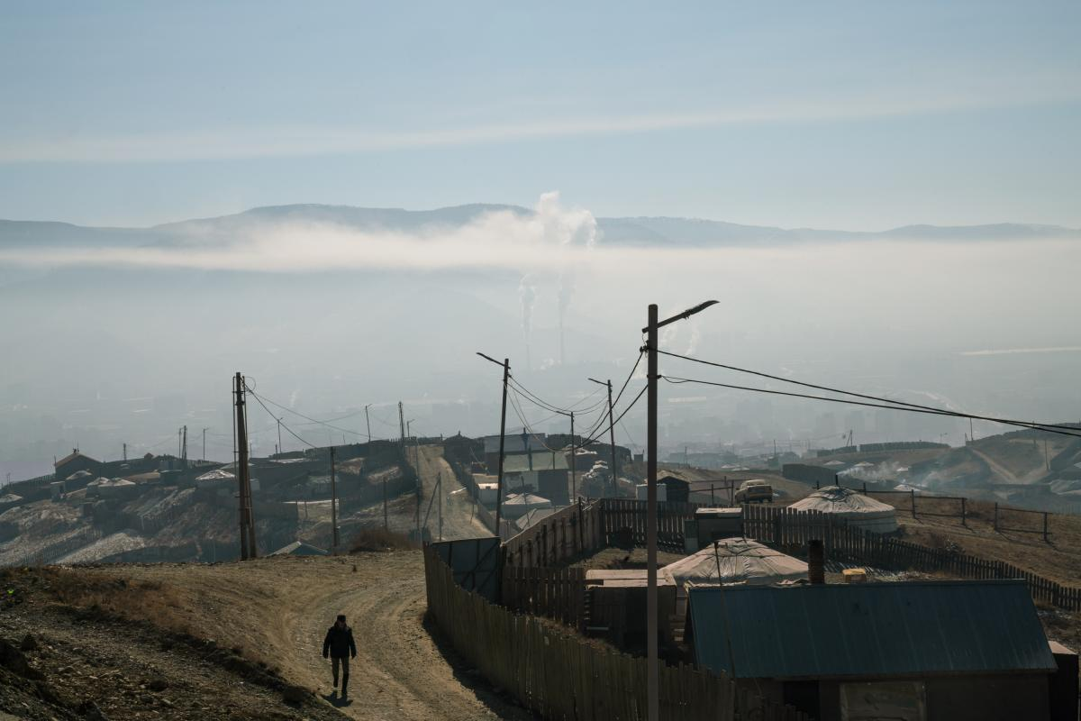The coal-fired power plants of Ulaanbaatar add to the city's air pollution as well. It's emblematic of a pattern seen throughout the world, where economic development clashes with environmental health.