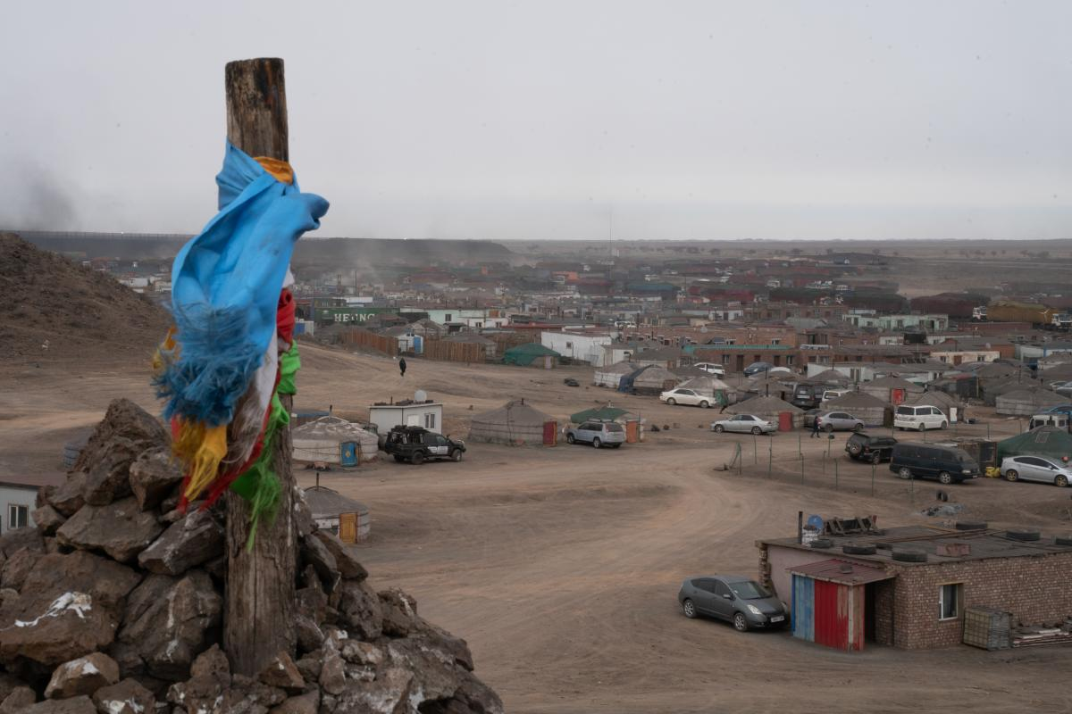 In 1993, Tsagaan Khad was a temporary camp of 10 gers. Now it is a sprawling community of as many as 10,000 people either staying there or passing through at any given time. Drivers can stop over in the area to get a hot meal, a quick rest and play a game