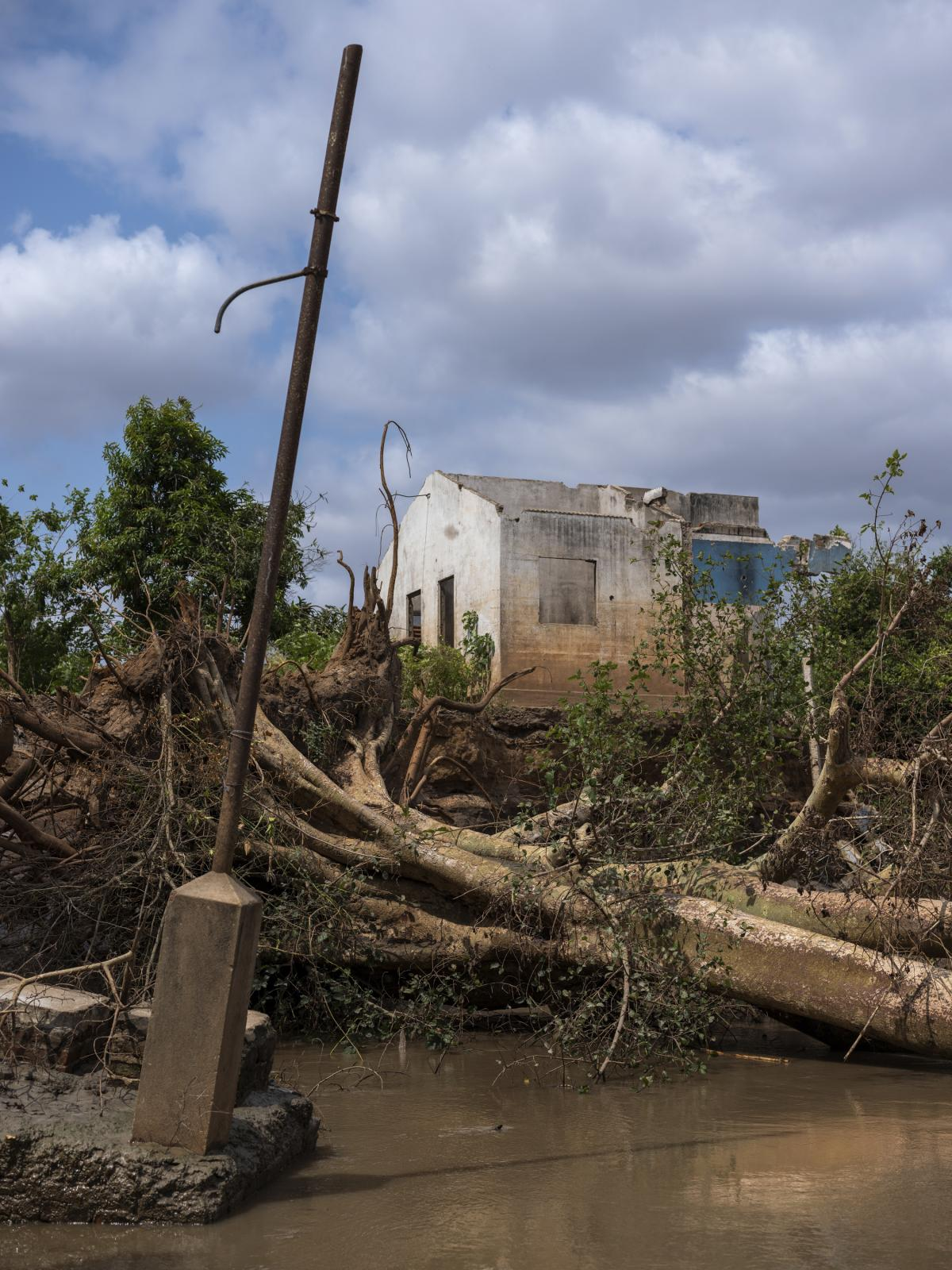 Cyclone Idai destroyed much of Buzi district in Mozambique. The storm is one of multiple major disasters that affected the country in 2019.