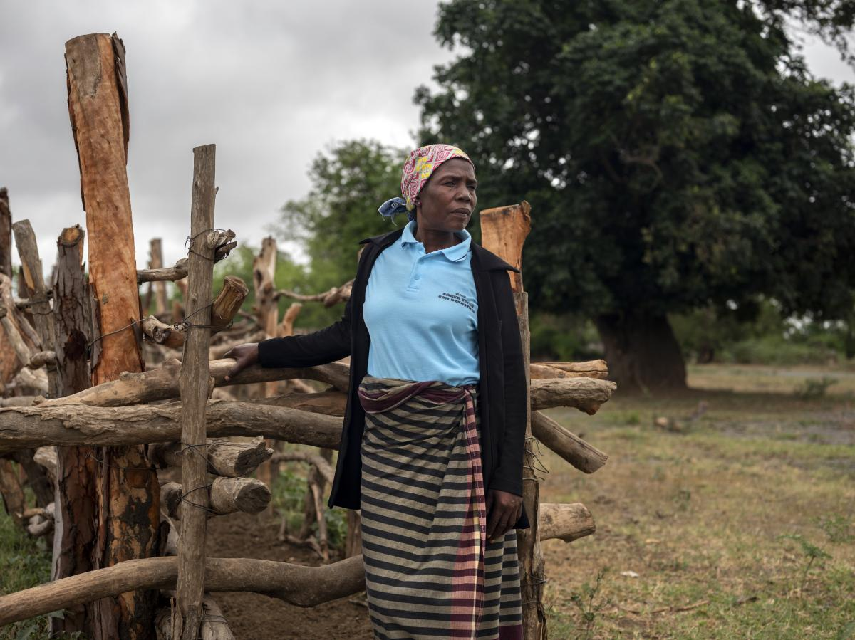 Juliet Chaque is a member of the Disaster Risk Reduction Committee in the town of Xidwaxine. She says the current drought has overwhelmed residents.