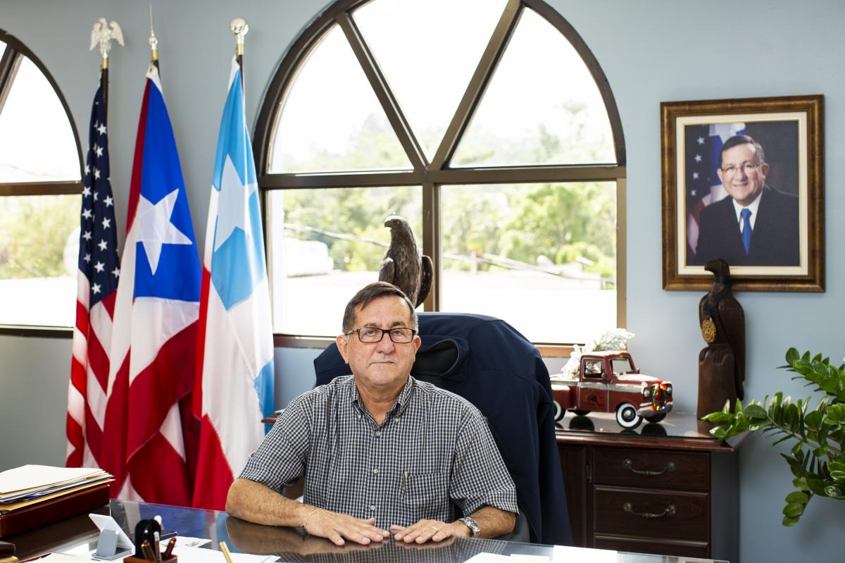 Mayor Roberto Pagán Centeno says the cemetery is not structurally sound and that it must be stabilized before the public can be allowed back in. However, no new burials would be allowed.