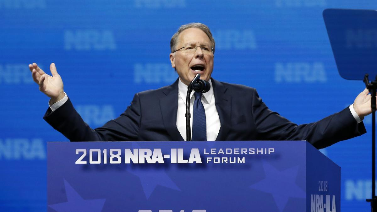 Wayne LaPierre, executive vice president of the National Rifle Association, is leading the gun rights group as it maneuvers a power shift in Congress.