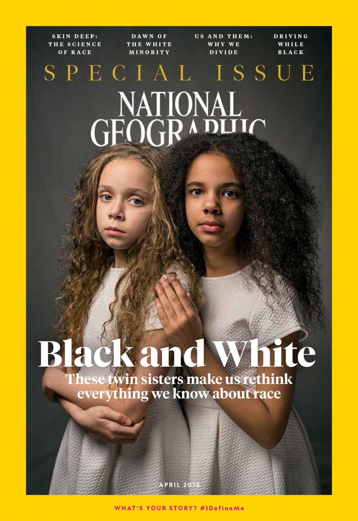 The April issue of National Geographic is all about race.
