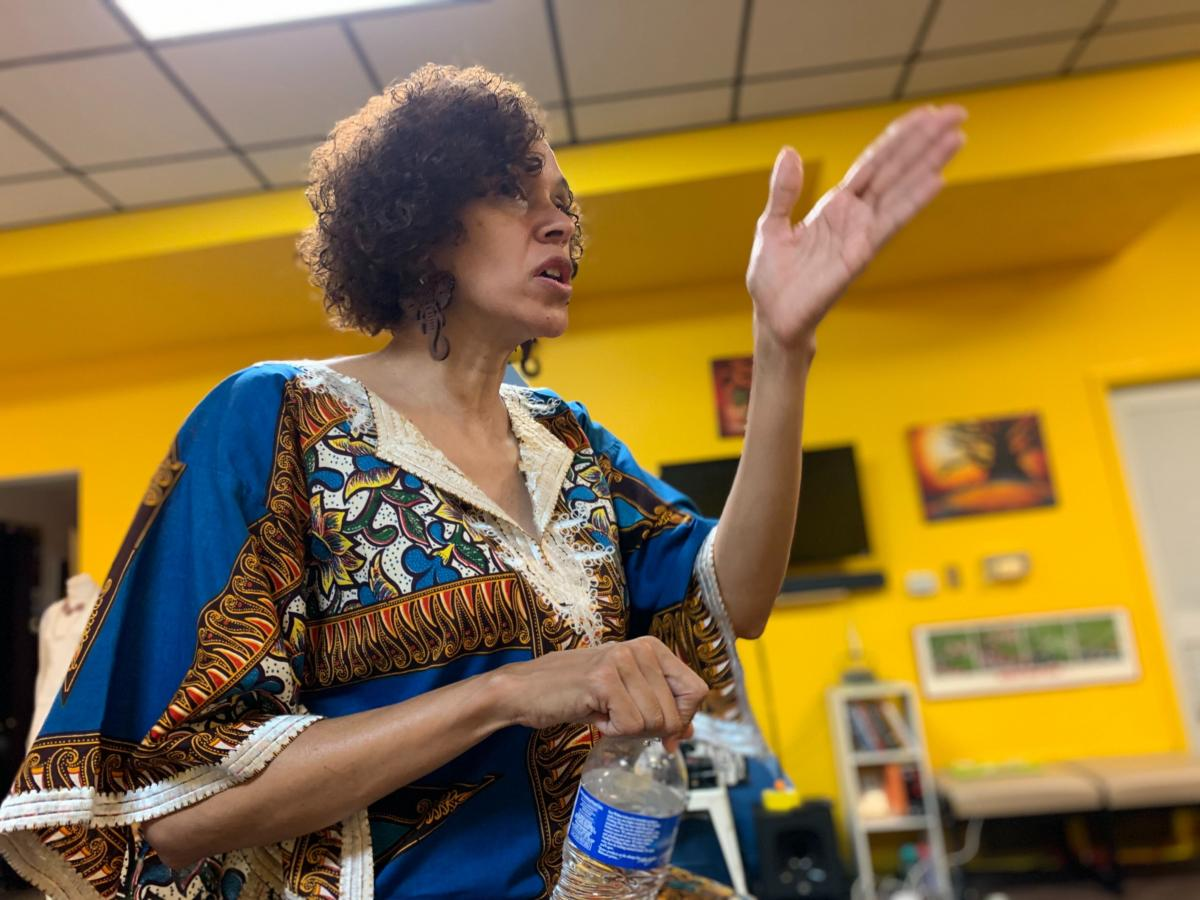 Longtime Omaha civil rights activist Michelle Troxclair says her city has a long history of systemic racism from policing to transportation to housing.