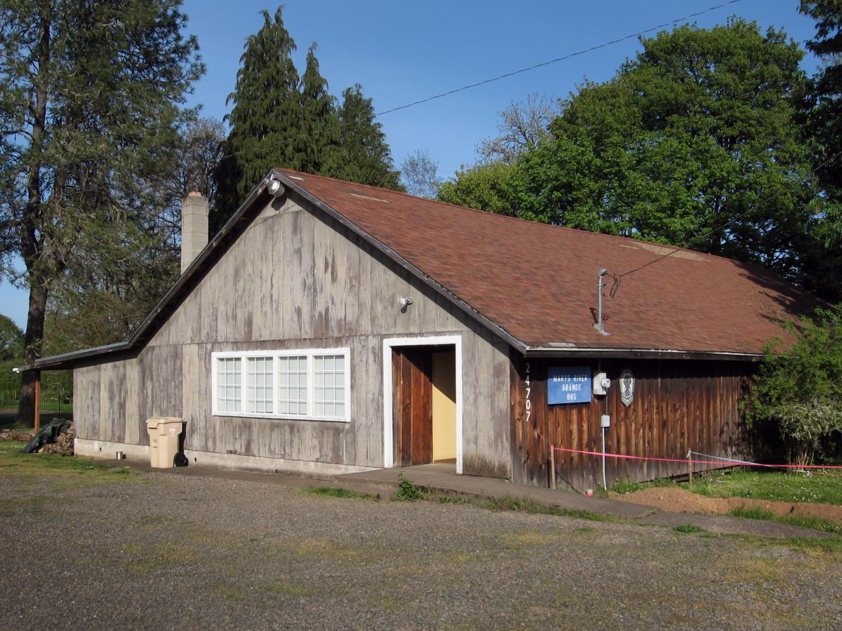 The Marys River Grange Hall near Philomath, Ore., was established in 1933. In 2009, a few remaining members were preparing to vote to shut the Grange down. But word spread and a group of new members interested in local and organic agriculture joined and h