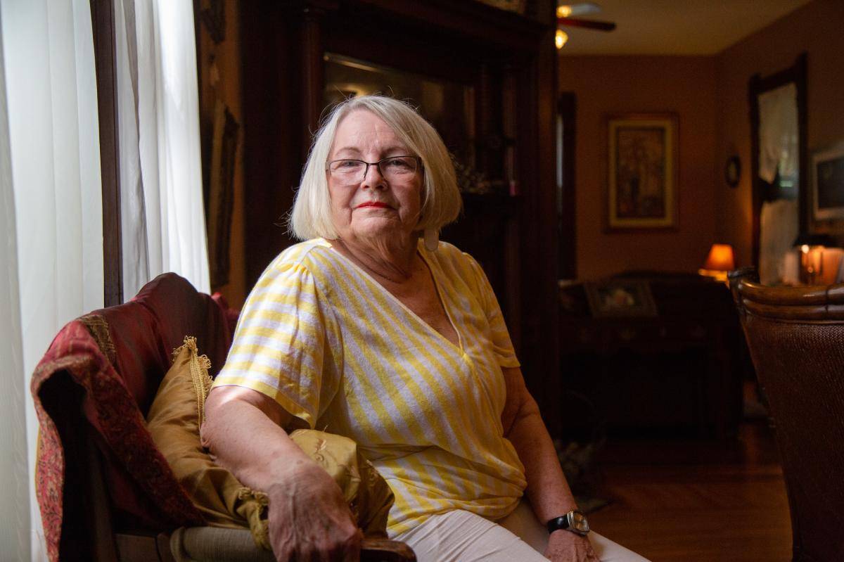 "During 18-day gap in ER services, Barbara Woodward slipped on ice outside a downtown Fort Scott business. She was driven 30 miles out of town of care. ""I thought to myself that the back of the ambulance isn't as comfortable as I thought it would be,"" Wood"
