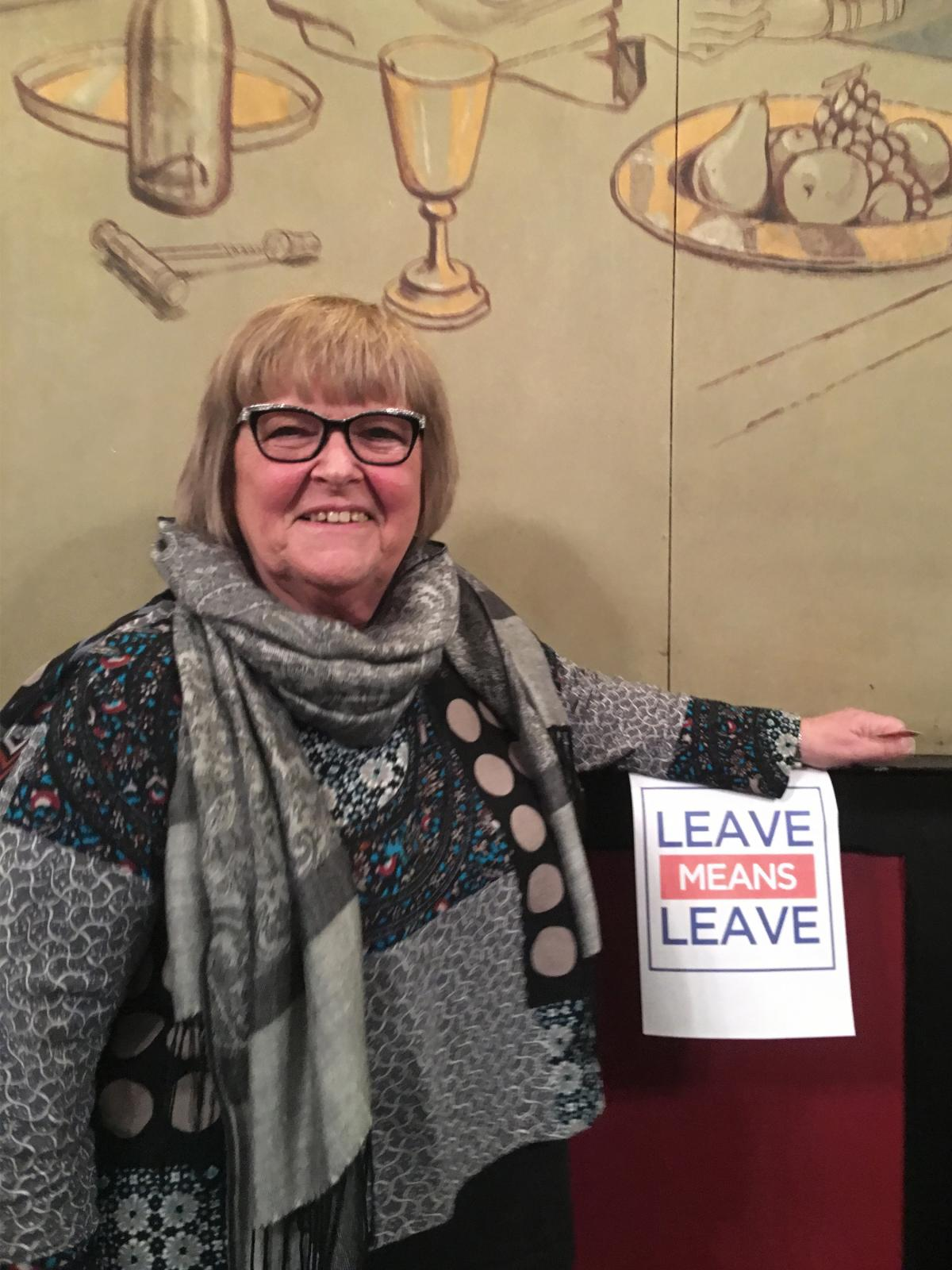 """At the Leavers of Lincolnshire meeting last week, """"We didn't know anybody ... and we started to talk and we all felt the same,"""" says Peggy Reading. """"That was absolutely great. We can breathe."""""""