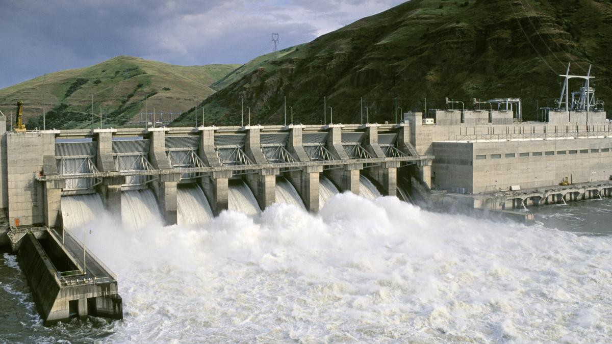 To aid salmon recovery, some people have proposed the Lower Granite Dam & hydroelectric plant on the Snake River be removed.