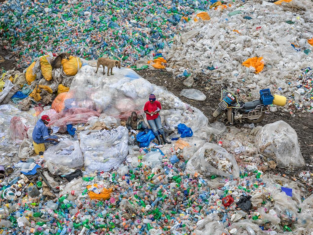 The Dandora Landfill in Nairobi, Kenya is a sprawling 30-acre dump that grows by an average of 850 tons of solid waste a day, according to the U.N. Environment Programme.