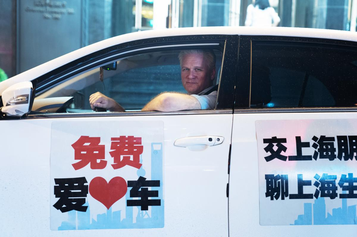 Frank Langfitt spent 10 years covering China for NPR and The Baltimore Sun. When he offered a free ride service in Shanghai, he found passengers spoke candidly as he drove them to their destinations.