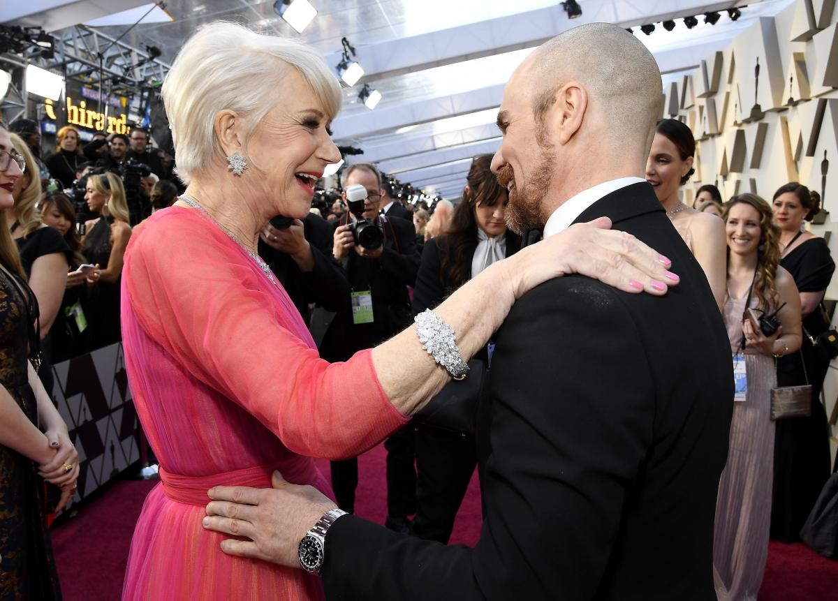 Helen Mirren and Sam Rockwell
