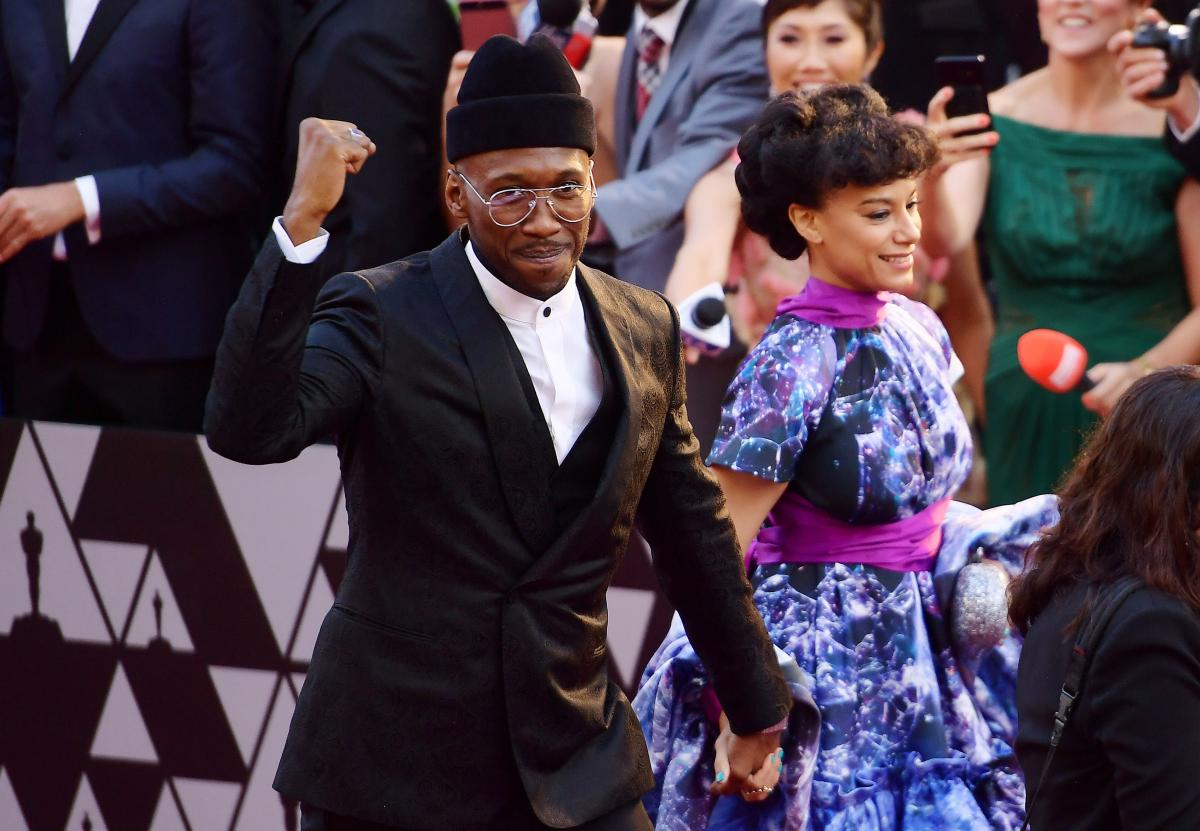 Mahershala Ali, left, and Amatus Sami-Karim, right