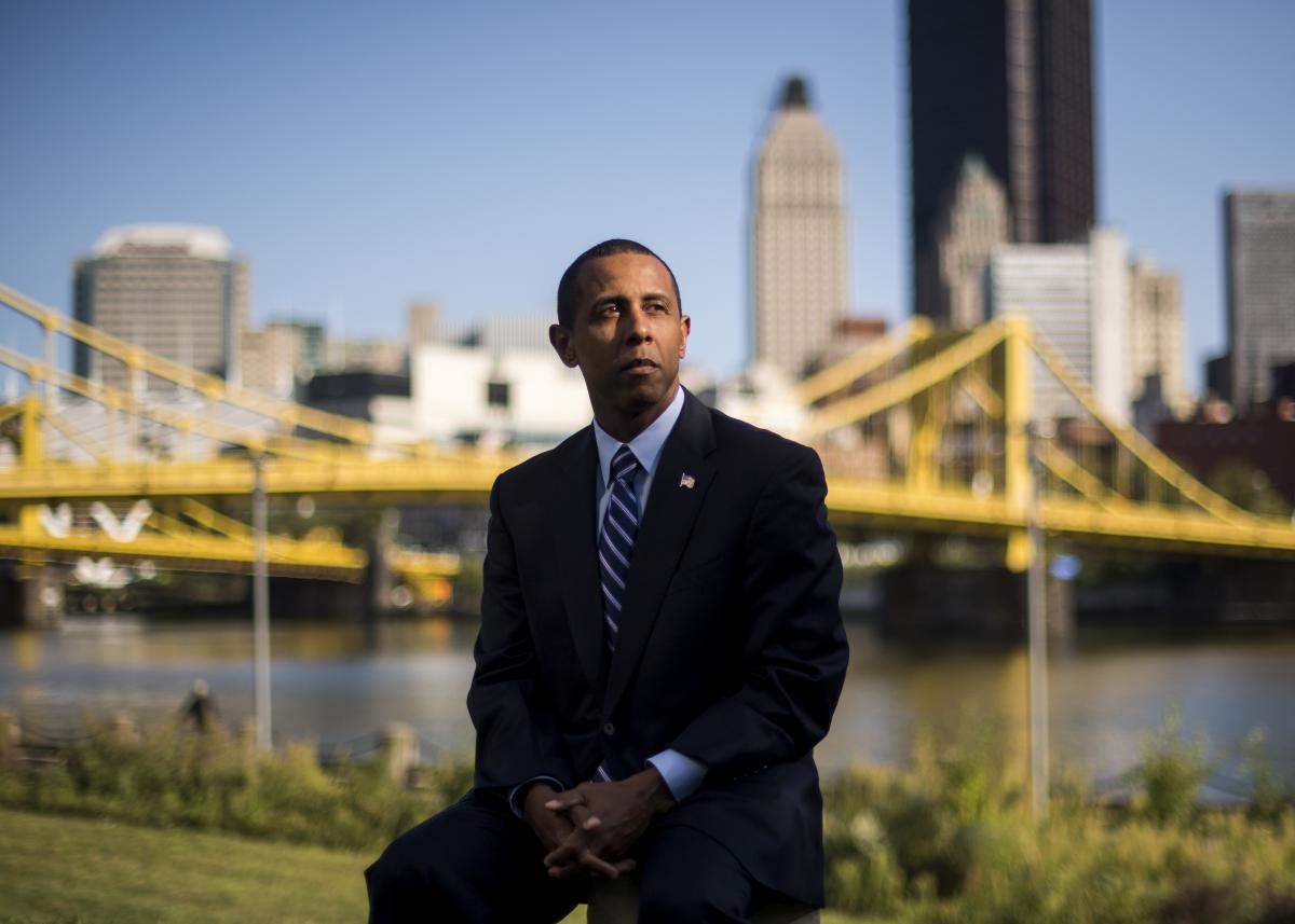 Republican Lenny McCallister says he could not vote for Donald Trump in 2016 because of his Christian faith. But he also can't imagine ever voting for Biden.
