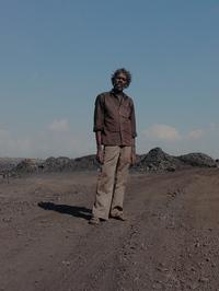 This laborer at a mine in Jharia earned $2 for loading four trucks with coal.