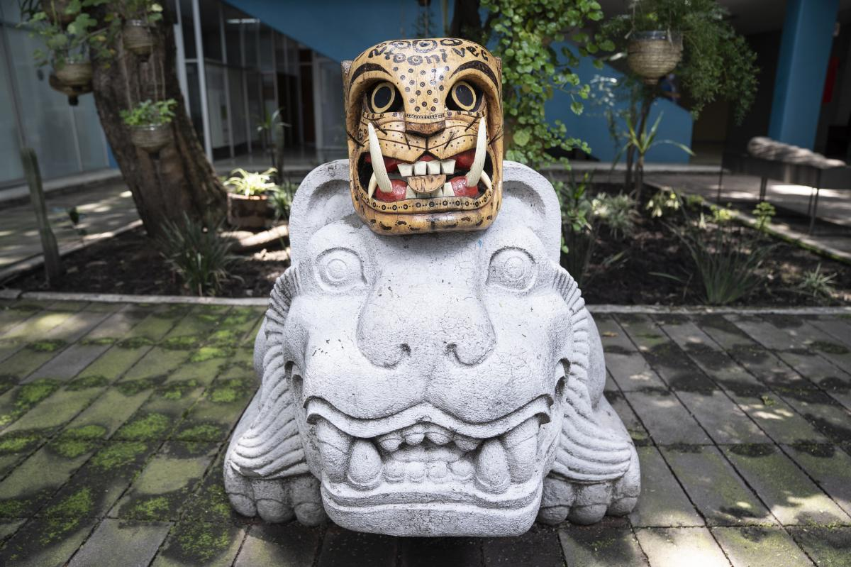 """Evil Jaguar Mask,"" Mixteco artisan Yonny Calixto, Ahuehuetitla, Puebla, Mexico."