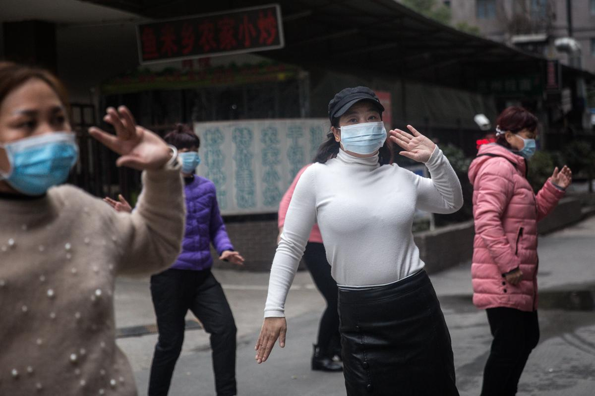 Group dancing in public squares is a common pastime for women in China.