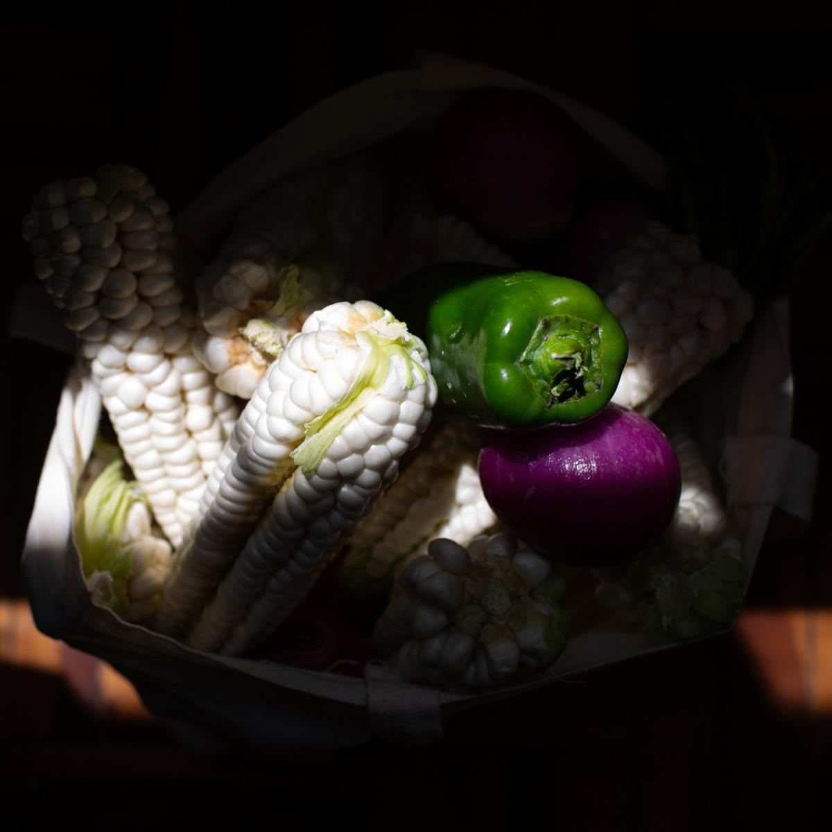 Barreto and her family receive weekly donations of vegetables and grains from charity groups. Before the pandemic, the family had a balanced diet, she says they could buy meat and fish on a daily basis. Now that's a once-a-week treat.