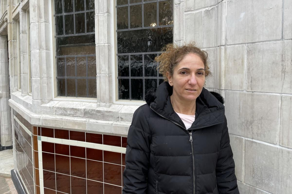 Polly Robertson, originally from Israel, has been coming to the Carlton for decades. When developers illegally knocked it down to build luxury apartments, Robertson mounted a legal campaign that resulted in a judge ordering the pub be rebuilt brick for br