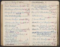 Kathleen Blackshear's address book, 1947-1957