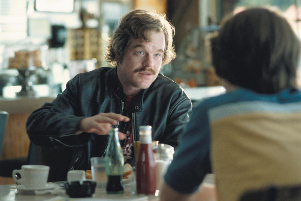 Hoffman plays rock journalist Lester Bangs in the 2000 film Almost Famous.