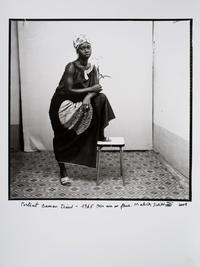 Portrait Oumau Diané, 1965