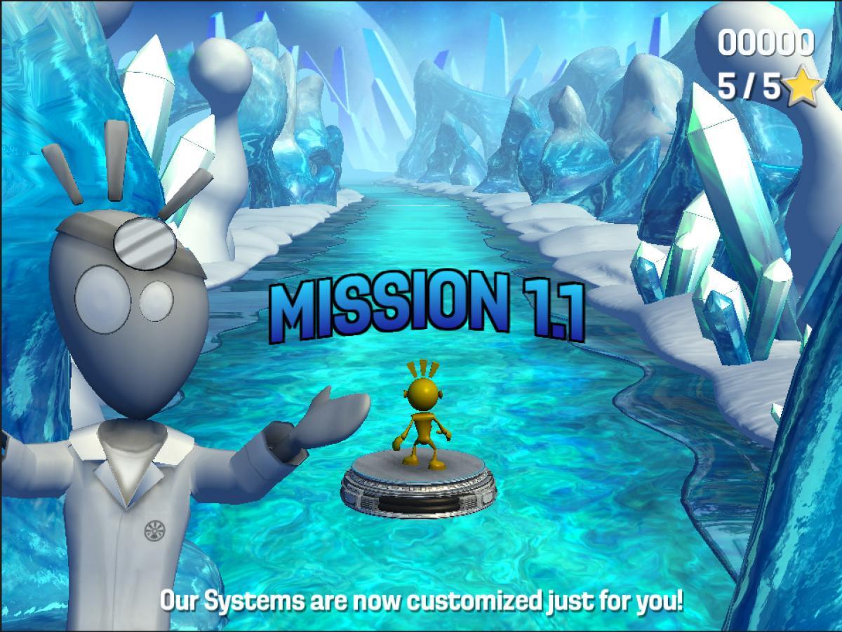 A screenshot of Project Evo.