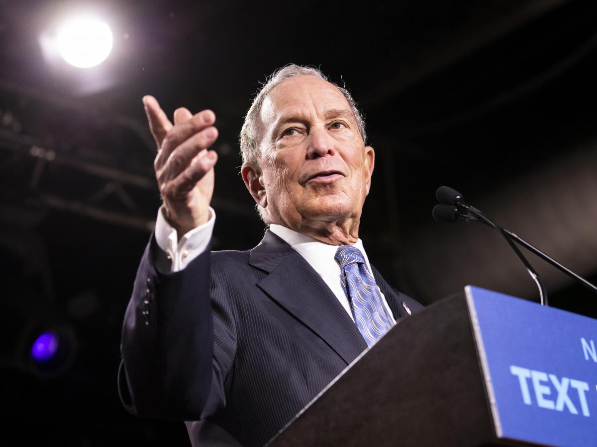 Former New York City Mayor Mike Bloomberg has qualified for the next debate in Nevada, but he isn't actively competing in contests that take place until March.