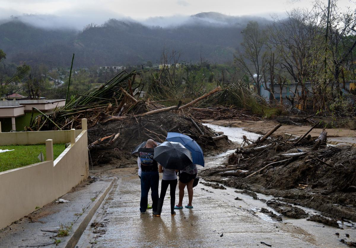 Continued flooding from the creek brings more suffering in Bilbao neighborhood of Utuado.
